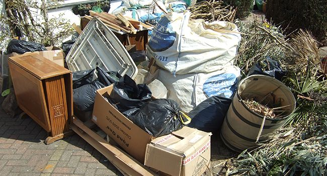 Home & Garden waste cleared